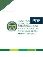 TOMO 1  Lineamiento de Política Direccionamiento Policial
