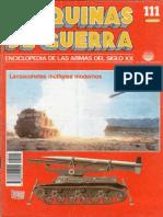 Maquinas de Guerra 111 - Lanzacohetes Multiples Modernos
