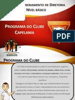 Programa Do Clube Capelania