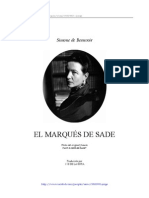 16181324 Beauvoir Simone de El Marques de Sade 1952