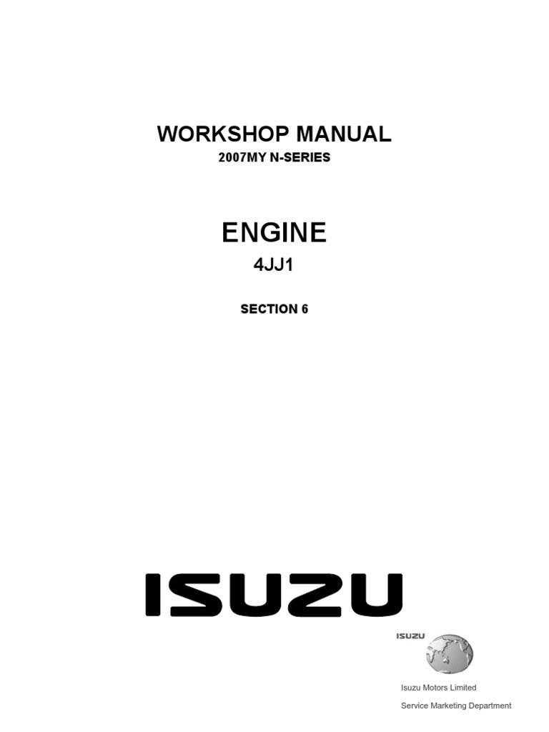 Isuzu 6h Engine Diagram Wiring Library Combustion Pdf Turbocharger Internal 4bd1t Engines