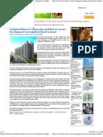 Gurgaon-Manesar Urban Plan Notified, To Ensure Development on Neighbourhood Concept