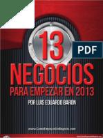 13+Negocios+2013