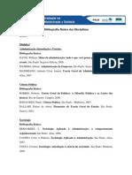 Bibliografia Do Curso de Administracao a Distancia - UnB