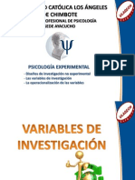 Variables de Inves