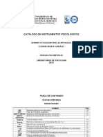 Catalogo Tests 2011