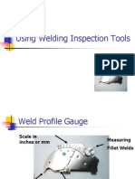 Welding Inspection Tools Ppt