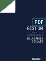 Guía de Gestión Coordinada de Crisis Alimentaria en Redes Sociales_AECOC_España