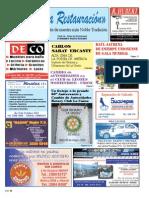 Mensuario La Restauracion N° 86 - Ago '13