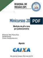 Medicao pH Ions 2010