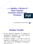 Geostatistics in Reservoir Charactorization_a Review
