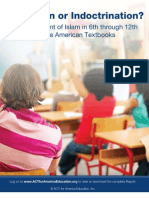 Report About Islam in Public School Textbooks