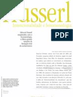 3 Husserl-Intencionalidade e Fenomenologia