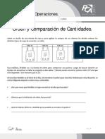 FICHA 2, ORDEN Y COMPARACIÓN DE CANTIDADES