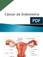 Cancer de Endometrio Titulacion 2013