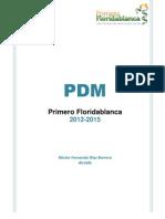 Plan de Desarrollo de Floridablanca 2012 2015