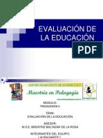 EVALUACIÓN DE LA EDUCACIÓN-1.ppt