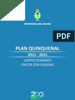 Plan Quinquenal 2010-2015
