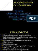 Taklimat Kepegawaian Track and Field