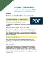 Homeopatia, Saúde e Meio Ambiente - Profa. Dra. Ana Teresa Doria Dreux - Homeopatia