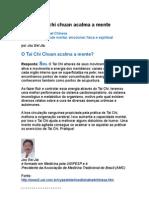 Por Que o Tai Chi Chuan Acalma a Mente - Jou Eel Jia - Medicina Tradicional Chinesa