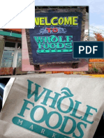 MGT 403 Whole foods