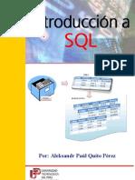 Introduccion al Lenguaje SQL (COmpleto) - Aleksandr Quito Perez