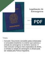 Legalização de Estrangeiros