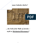Do Roman Catholics KnOw about the Walls of Jericho?