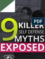 9 Killer Self Defense Myths Exposed