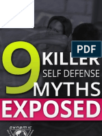 9 Killer Self Defense Myths Exposed