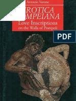 Erotica Pompeiana - Antonio Varrone