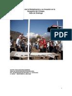 El Vértigo de la Globalización y su Invasión en el Choapa (1)