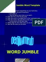 Word Jumble t Pl