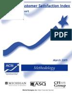 ACSI Methodology Paper