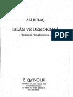 Ali Bulac - Islam Ve Demokrasi Teokrasi, Totaliterizm