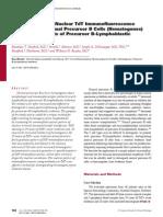 Diferenciacion de Hematogonias y Linfoblastos