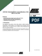 Calibracion ADC ATMEGA