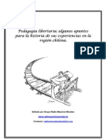 Pedagogía libertaria en chile