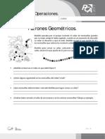 FICHA 7, PATRONES GEOMÉTRICOS