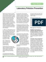 lab. pollution