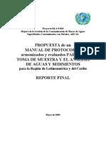 Protocolos Para Parametros de Agua