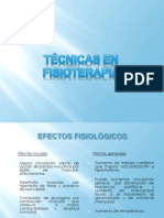 3. Tecnicas en Fisioterapia