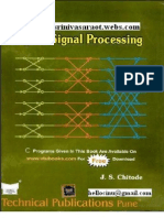 Digital Signal Processing by j.s.chitode