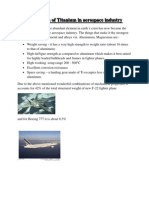 Application of Titanium in aerospace industry.docx