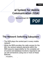 Global System for Mobile Communication (GSM)-II