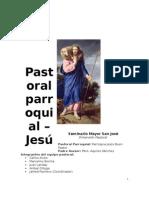 Pastoral - Planificación