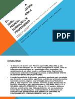 A CONSTRUÇÃO DOS DISCURSOS SOBRE A SURDEZ NA LITERATURA PEDAGÓGICA PARA A FORMAÇÃO DE PROFESSORES