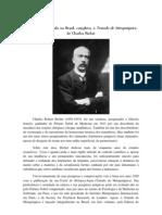 Lançamento do Tratado de Metapsíquica de Charles Richet, na íntegra, no Brasil