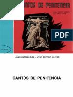 Cantos de Penitencia - j. Madurga